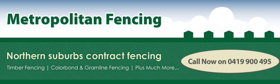 Metropolitan Fencing Website Banner